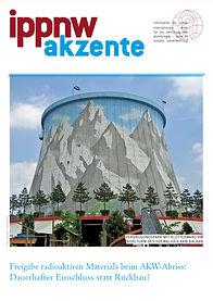 """IPPNW-Broschüre mit dem Titel """"Freigabe radioaktiven Materials beim AKW-Rückbau"""" aus 2016"""