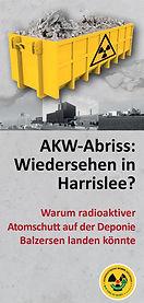 Faltblatt AKW-Abriss: Wiedersehen in Harrislee? von BAESH aus 2020