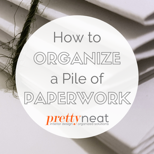 How to Organize a Pile of Paperwork