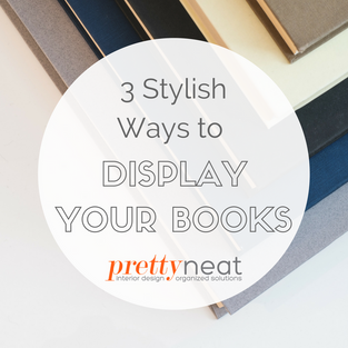3 Stylish Ways to Display Your Books