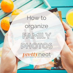 How to Organize Family Photos