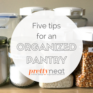 Five Tips for an Organized Pantry