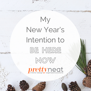 My New Year's Intention to Be Here Now
