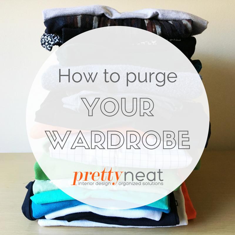 purge your wardrobe