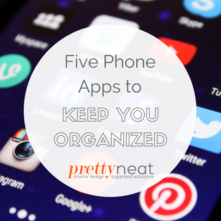 Five Phone Apps to Keep You Organized