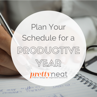 Plan Your Schedule for a Productive Year