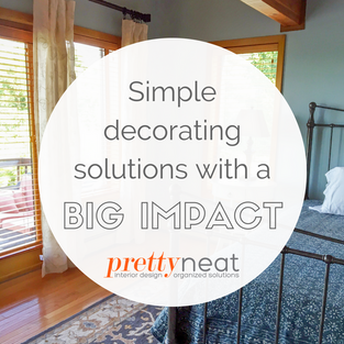 Simple Decorating Solutions with a Big Impact