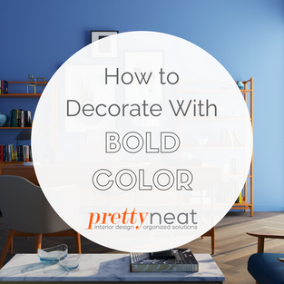 How to Decorate With Bold Color