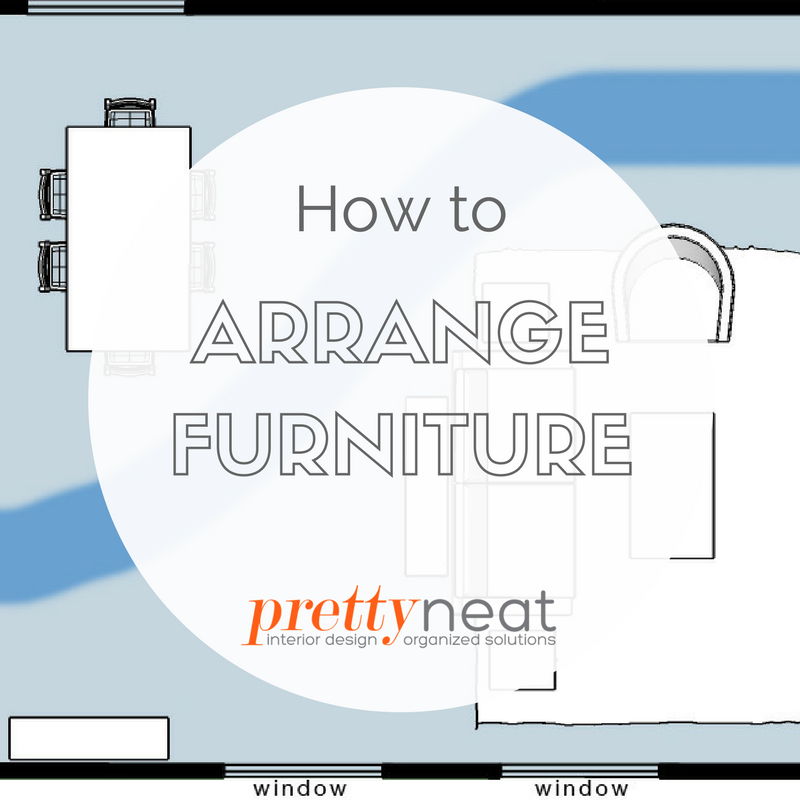 how to arrange furniture