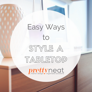 Easy Ways to Style a Tabletop