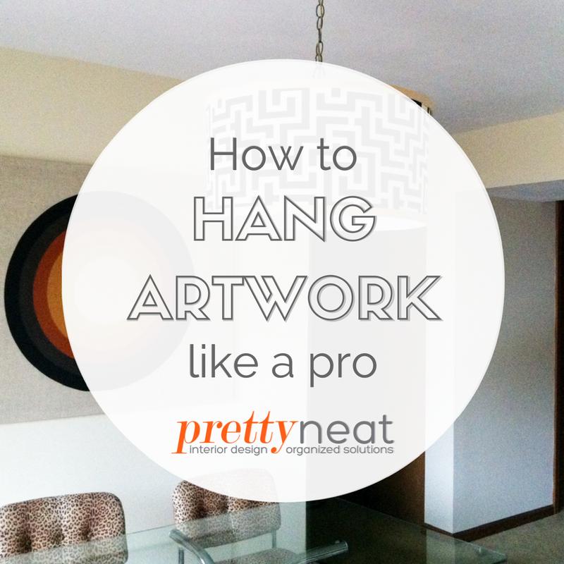 hang artwork