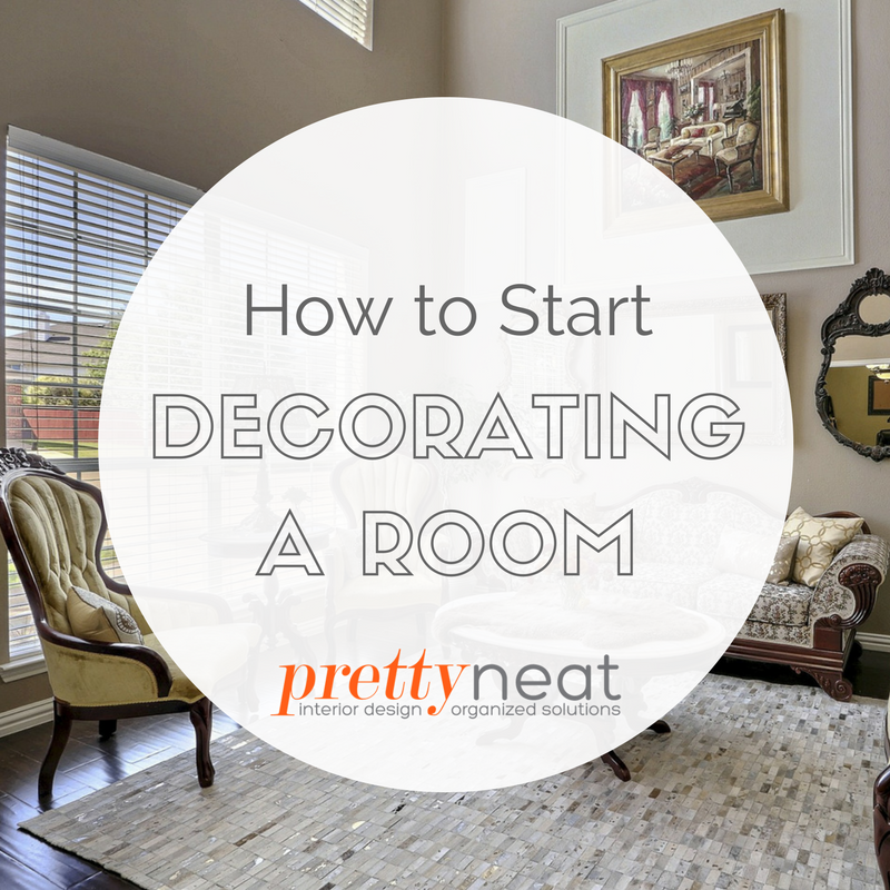 decorating a room