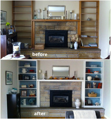 living room redecorate