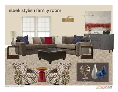 family room plan