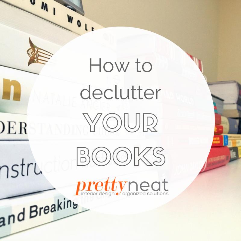 declutter books