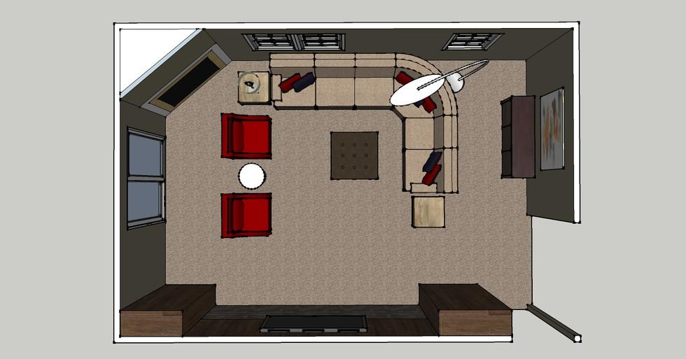 family room model