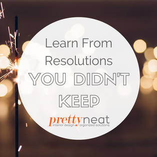 Learn from Resolutions You Didn't Keep