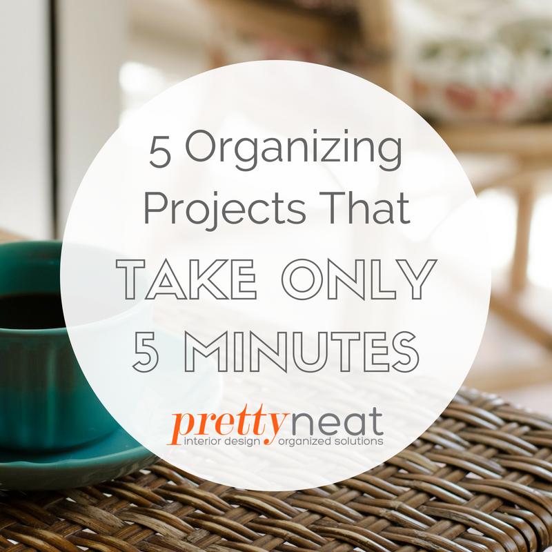 quick organizing