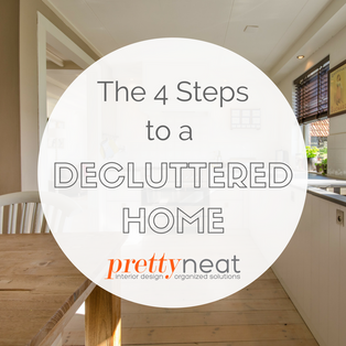 The 4 Steps to a Decluttered Home