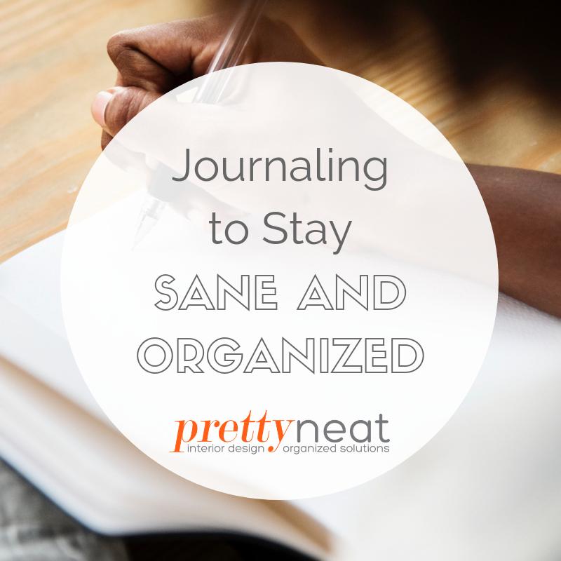 journaling to organize