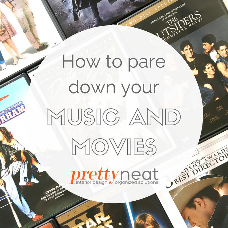 declutter music movies