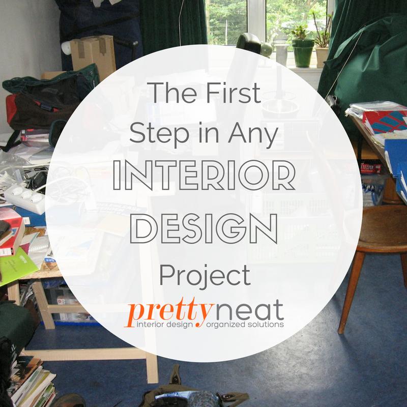 interior design first step