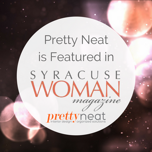 Pretty Neat is Featured in Syracuse Woman Magazine