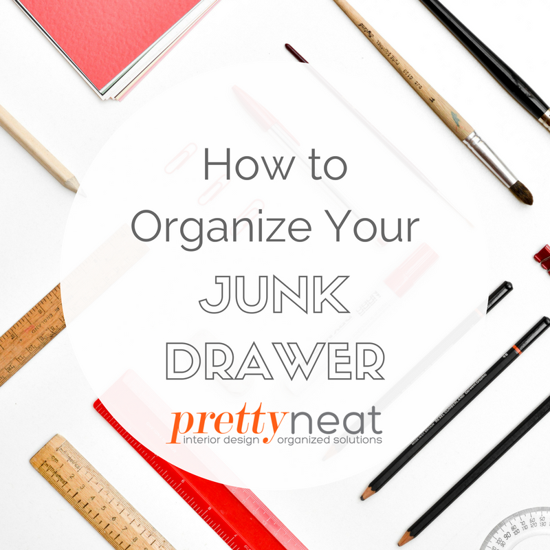 organize junk drawer