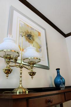 vintage double lamp