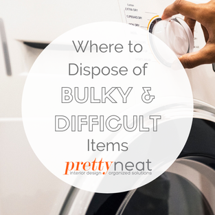 Where to Dispose of Bulky & Difficult Items