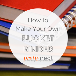 How to Make Your Own Bucket Binder