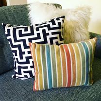 custom window treatments & cushions