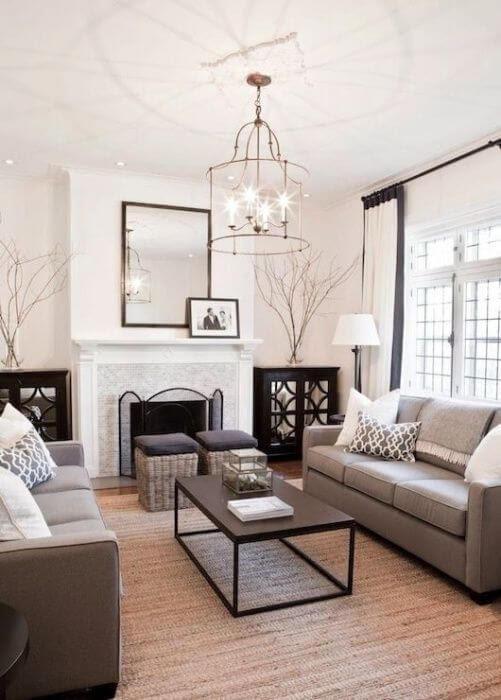 no television living room