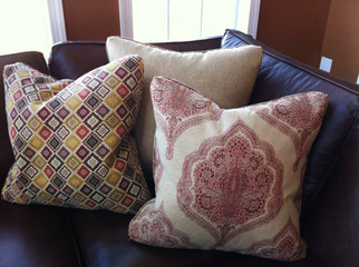 traditional pattern pillows