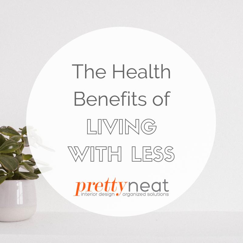 healthier life decluttered