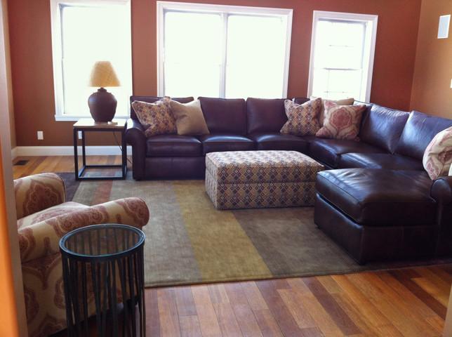 striped area rug