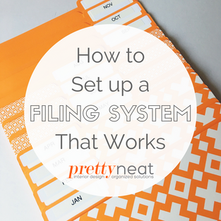 How to Set Up a Filing System That Works