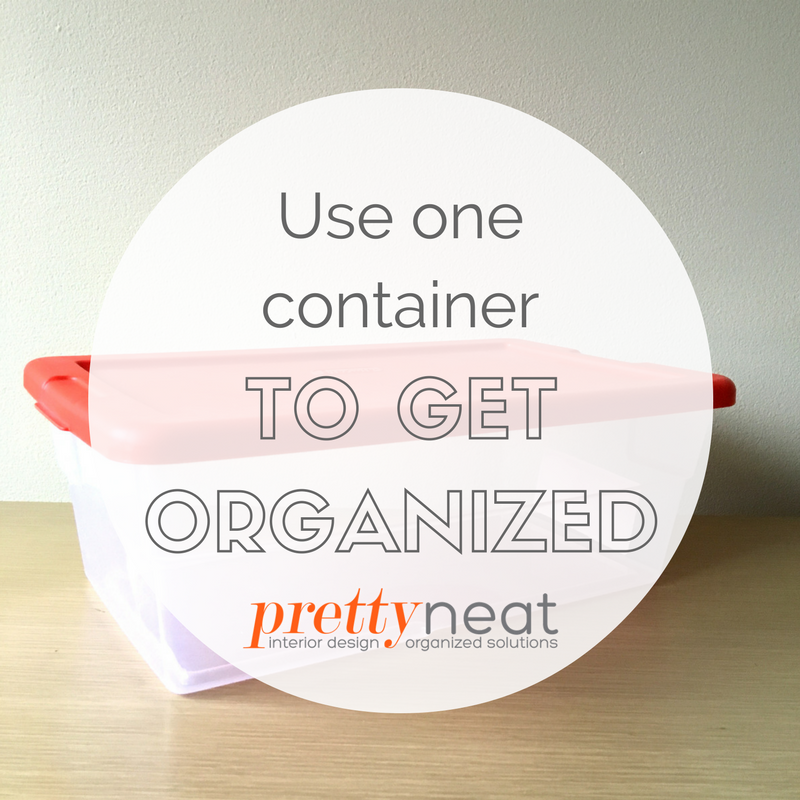 container for organizing