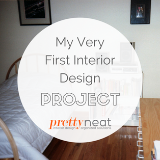 My Very First Interior Design Project