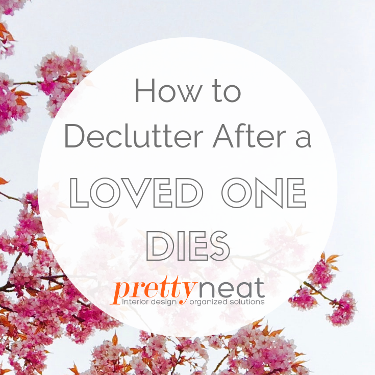 declutter after death