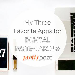My Three Favorite Apps for Digital Note-Taking