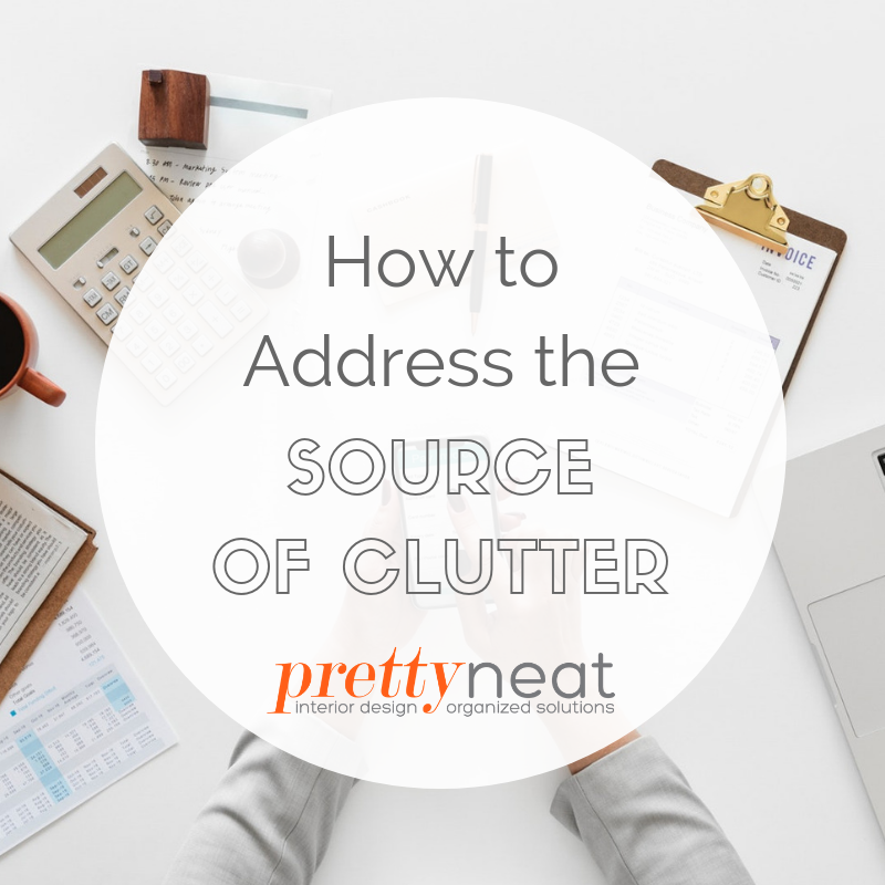 where clutter comes from