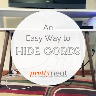 An Easy (and Cheap!) Way to Hide Cords