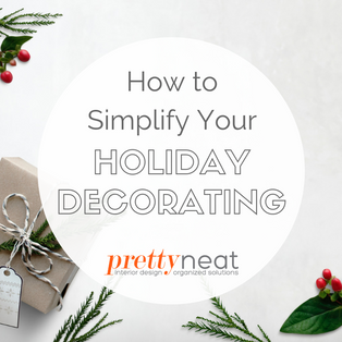 How to Simplify Your Holiday Decorating