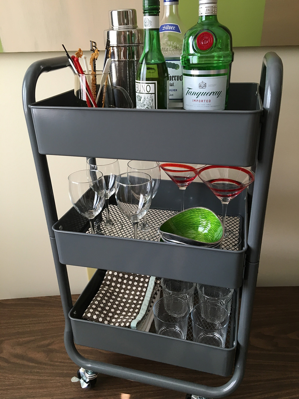 easy bar cart