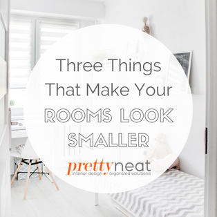 Three Things That Make Your Rooms Look Smaller