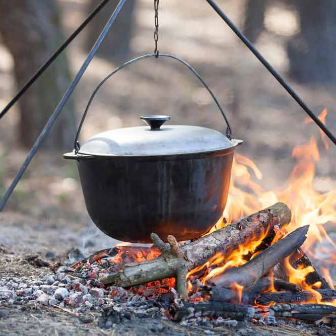 April Campout - Cooking Skills