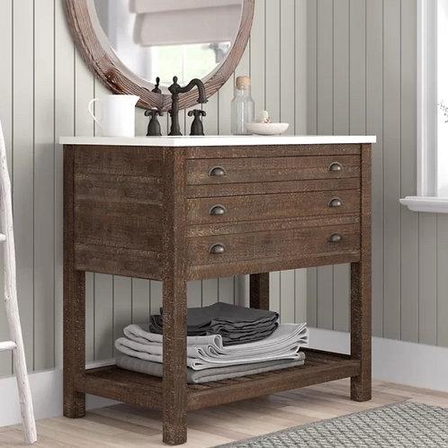 Bathroom Single Vanity Option 1