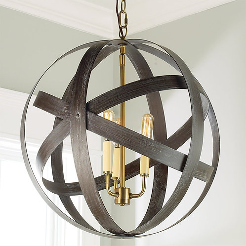 Tiger Eye Collection Light Fixture Pendant 8