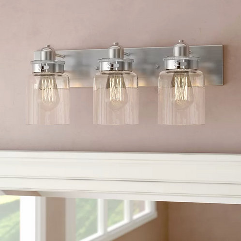Coltan Collection Bathroom Light Fixture 1
